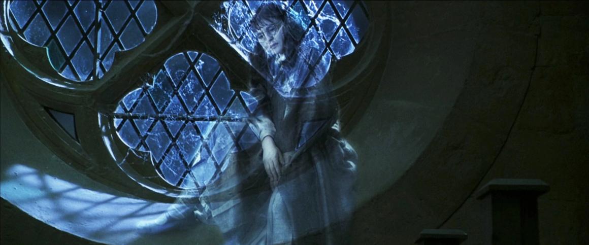 Maulende Myrte in Hogwarts