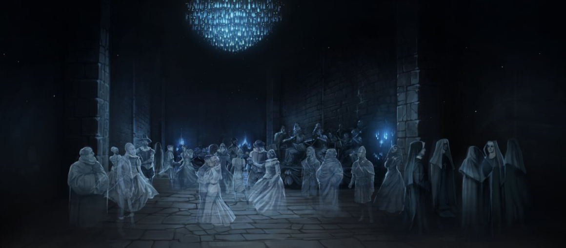 Geisterparty in Hogwarts
