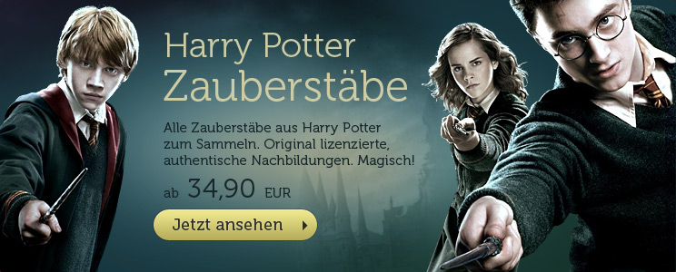 Harry Potter Zauberst�be ab 34,90 EUR