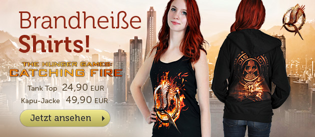 Tribute von Panem - Catching Fire - T-Shirt-Neuheiten ab 19,90 EUR