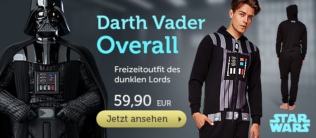 Star Wars - Darth Vader Overall - 59,90 EUR