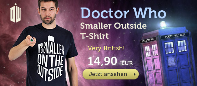 Doctor Who - Smaller Outside T-Shirt - 14,90 EUR