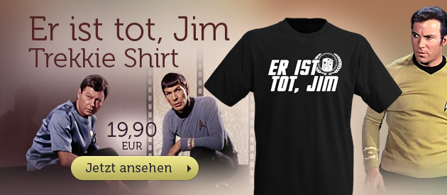 Star Trek - Er ist tot, Jim T-Shirt - 19,90 EUR