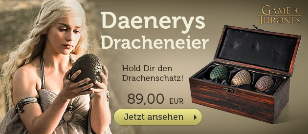 Gem of Thrones - Daenerys Drachenei Sammlerbox 3er Set - 89 EUR