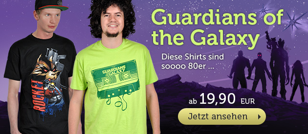 Guardians of the Galaxy T-Shirts - Je 19,90 EUR