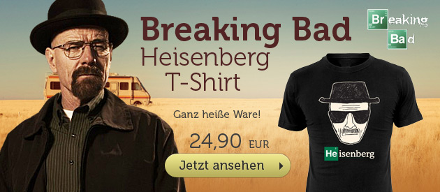 Breaking Bad - Wanted: Heisenberg T-Shirt - 24,90 EUR
