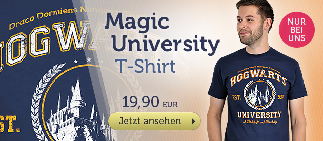 Magic University  T-Shirt f�r Harry Potter Fans - 19,90EUR