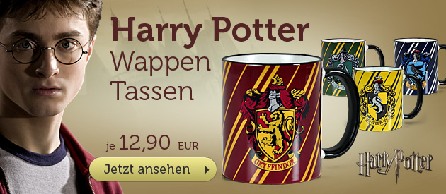 Harry Potter Wappen Tassen