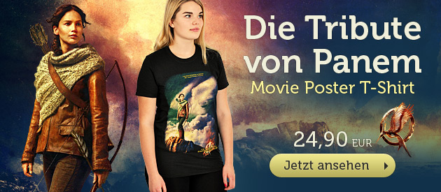Tribute von Panem - Movie Poster T-Shirt - 24,90 EUR