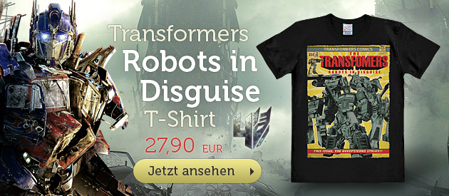 Transformers - Robots In Disguise T-Shirt