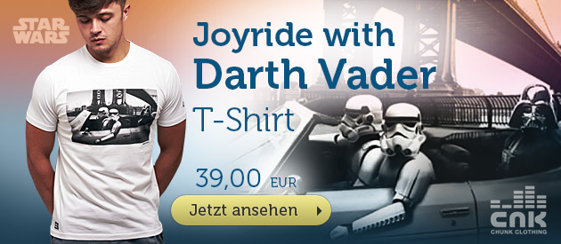 Star Wars - Joyride With Darth Vader T-Shirt