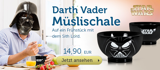 Star Wars - Darth Vader M�slischale - 12,90 EUR
