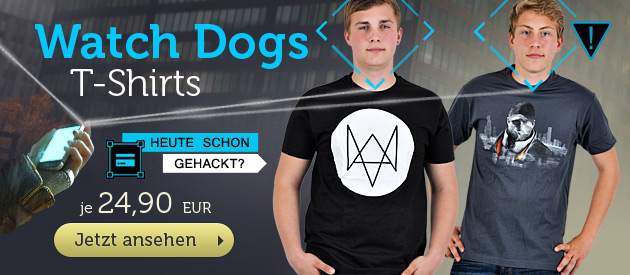 Watch Dogs T-Shirts - Je 24,90 EUR