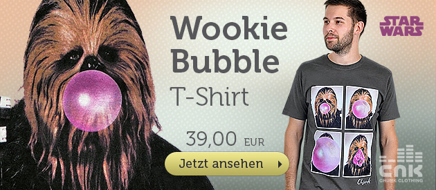 Star Wars - Wookie Bubble T-Shirt grau - 39 EUR