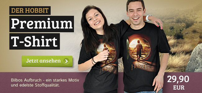 Der Hobbit Preview - Premium T-Shirt
