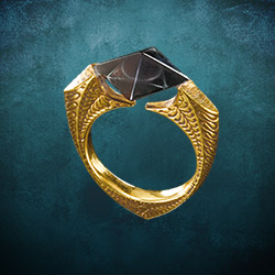 Marvolo Vorlost Gaunts Ring