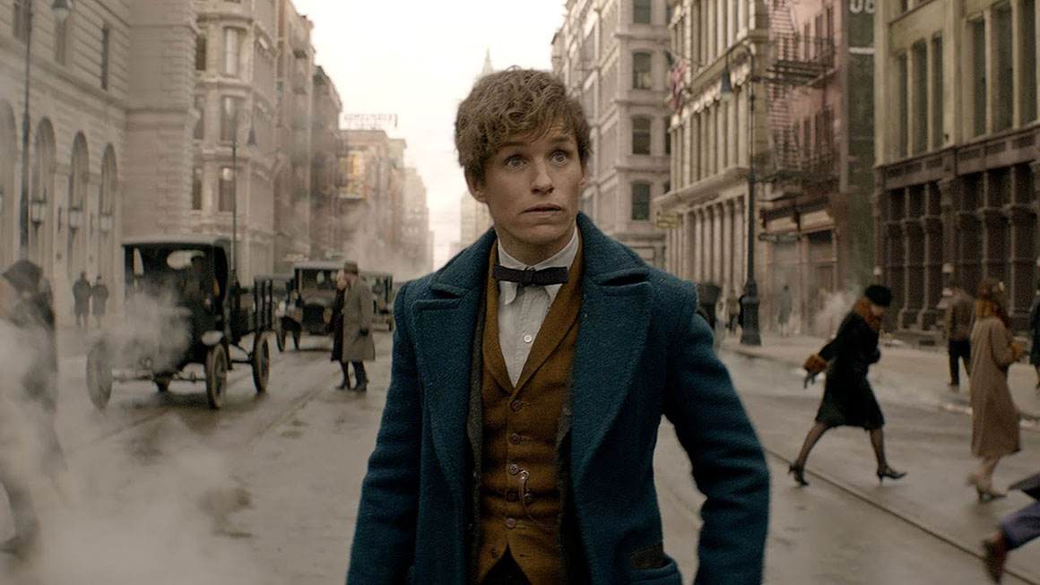 Newt Scamander in New York