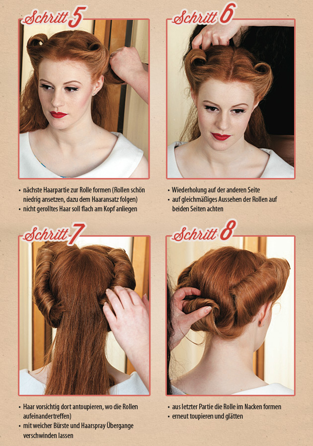 Rockabilly Frisuren Anleitung Youtube Helena Blog